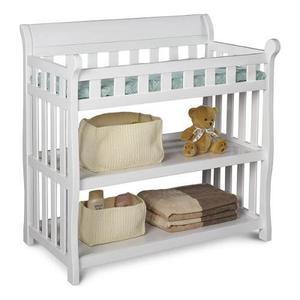 Cambiador Para Bebé Delta Children Con 2 Estantes -blanco