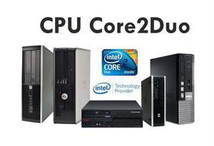Cpu Core2 Duo 4gb Ram Ddr3 320 Gb Hdd! Ciber Cafe