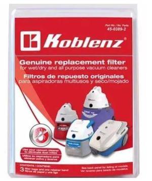 Filtro Para Aspiradora Koblenz Multiusos Seco Mojado