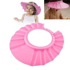 Gorrito Protector Para Baño Sol Y Mas Para Bebes Rosa