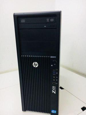 Hp Z410 Torre Servidor Xeon E5-1603 8gb De Ram 500 Disco