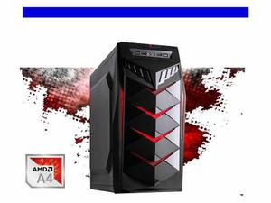 Ojo Pc Cpu Gamer Barato 3.7ghz Amd Dual Core 8gb Ddr3 500gb