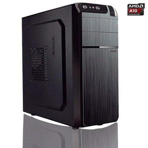 Pc Barata Gamer Amd A10 Quad Core 4gb 500gb Elige Gabinete