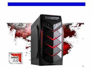 Pc Cpu Barato Gamer Amd A4 6300 3.7ghz X 2. 4gb Ddr3 500gb