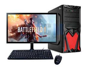 Pc Gamer A10 9700 Dual Core 8gb 1tb Radeon Monitor Led 22