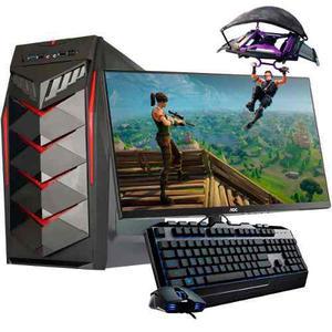Pc Gamer A10 Quad Core Radeon 8gb 500gb 450w Led 21.5