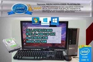 Remate De Cpu Dell Optiplex 9020 I5 8gb 500gb Tarj.vieo 1gb