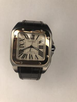 Cartier Santos 100 Acero/Oro