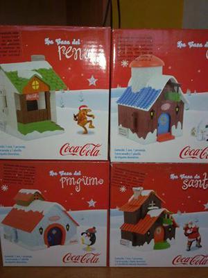 Casitas Navidad Coca Cola