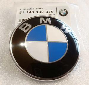 Emblema Bmw Cofre / Cajuela 82mm Series Todas