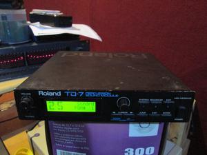 Roland TD-7 modulo de Batería y Percusiones