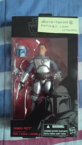 Star Wars Jango Fett The black series #15 (Nuevo sin abrir)