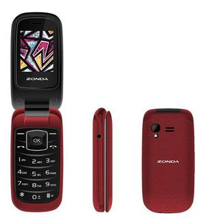 Telefono Celular De Tapa Folder Flip Zm120 Para Adulto Mayor