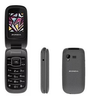 Telefono Celular De Tapa Folder Zm120 Para Telcel Movistar