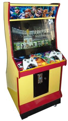 Venta de máquinas y simuladores de videojuegos, mesas de