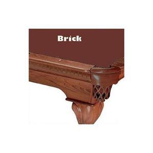 10 Brick Proline Classic 303 Pool De Billar Mantel De Fieltr