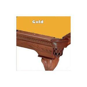 10 Gold Proline Classic 303 Pool De Billar Mantel De Fieltro