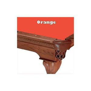 10 Orange Proline Classic 303 Pool De Billar Mantel De Fielt