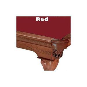 10 Red Proline Classic 303 Pool De Billar Mantel De Fieltro