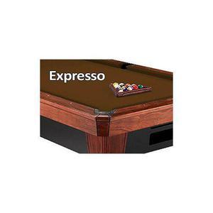 10 Simonis 860 Espresso Pool Billar Mantel De Fieltro
