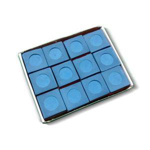 12 Tiza Para Billar High Skore Caja De 12 Cosméticos
