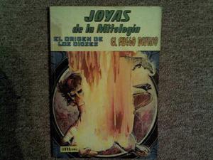 2 Libro Comic De Joyas De La Mitologia Novaro 1973