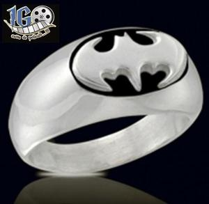 Anillo Batman Ovalado Dark Knight Dc Comics Tallas Igo