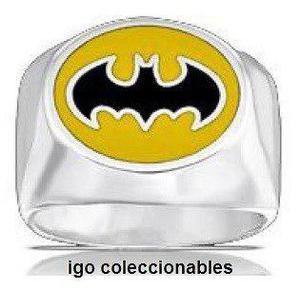 Anillo Batman Retro Dark Knight Dc Comics Talla 9 Igo