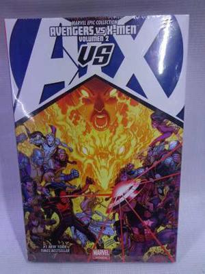 Avengers Vs X-men Vol.2 Marvel Deluxe Pasta Dura