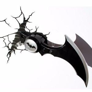 Batman Batarang 3d Deco Light Lámpara De Noche