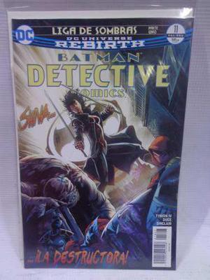 Batman Detective Comics Rebirth Vol.11 Dc Televisa 2018