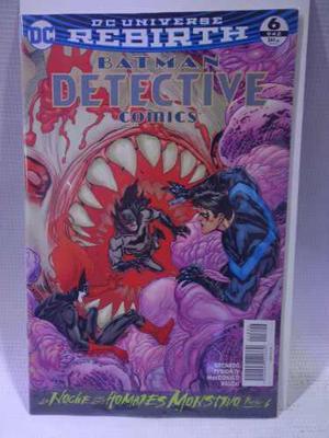 Batman Detective Comics Rebirth Vol.6 Dc Comic Televisa 2018