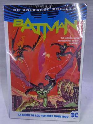 Batman La Noche De Los Hombre Monstruos Coleccion Dc