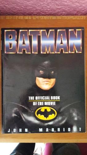 Batman Libro Oficial De La Película De 1989