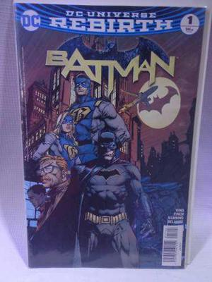 Batman Rebirth Vol.1 Dc Comic´s Televisa 2017