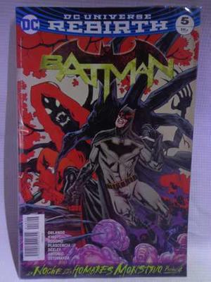 Batman Rebirth Vol.5 Dc Comic´s Televisa 2018