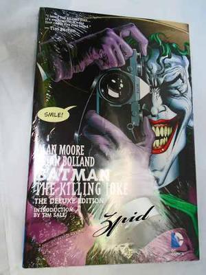 Batman The Killing Joke Deluxe Edition Pasta Dura Ingles