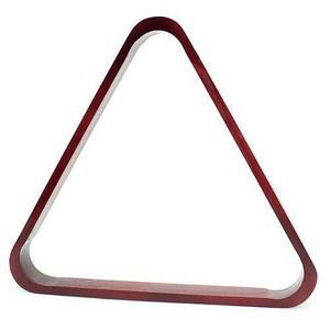 Billar De Caoba Y Triángulo De Piscina De Bolas De Billar