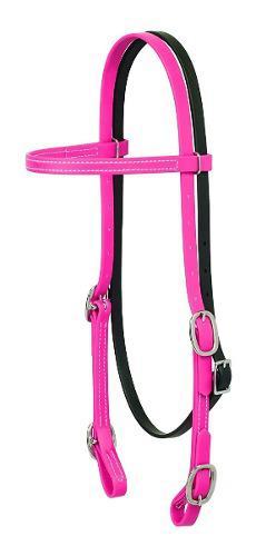 Bridas Cabezada Para Caballo Weaver Brahma Webb Color Rosa