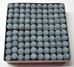 Caja Con 100 Casquillos Para Billar