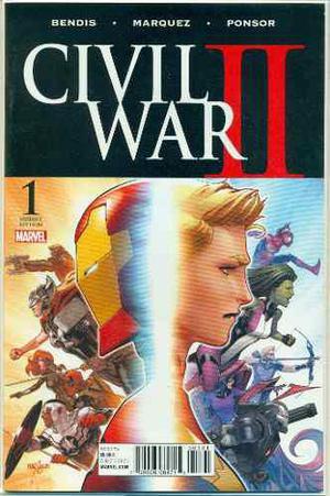 Civil War 2 #1 Variante 1:25 Marvel Comics Captain Marvel