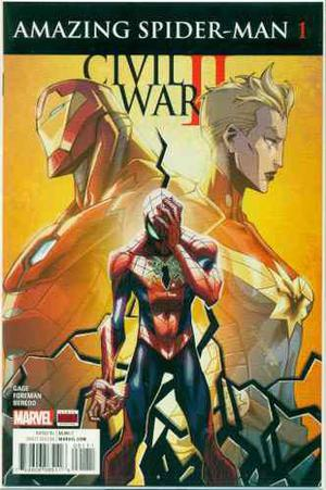 Civil War 2 Amazing Spiderman 1 Marvel Comics