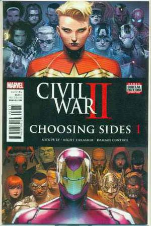 Civil War 2 Choosing Sides 1 Marvel Comics Ironman