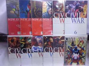 Civil War Serie Completa 53 Comic Marvel Televisa 2007-2009