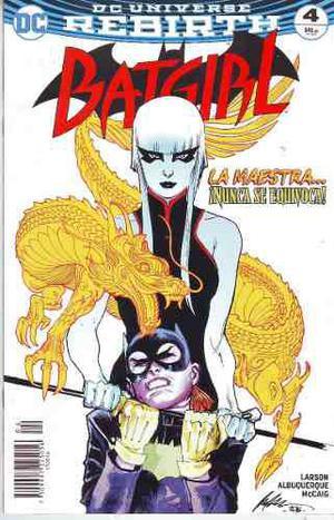 Cómic Dc Universe Rebirth Batgirl # 4 Nuevo Español