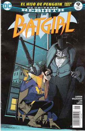 Cómic Dc Universe Rebirth Batgirl # 9 Nuevo Español
