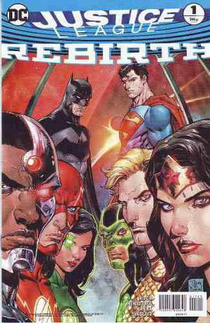 Cómic Dc Universe Rebirth Justice League # 1 One Shot