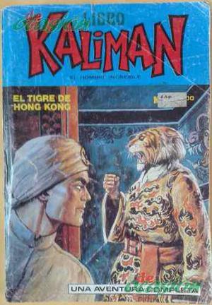 Cómic Libro Kalimán No. 3 (1993) El Tigre De Hong Kong