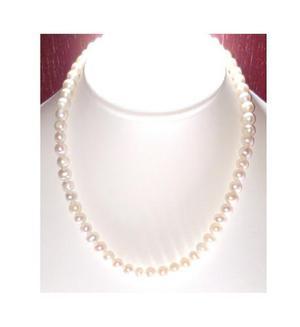 Collar Pulsera Aretes De Perla Cultivada A08