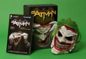 Comic Batman Death Of The Family Mask And Book Set Ing Nuevo